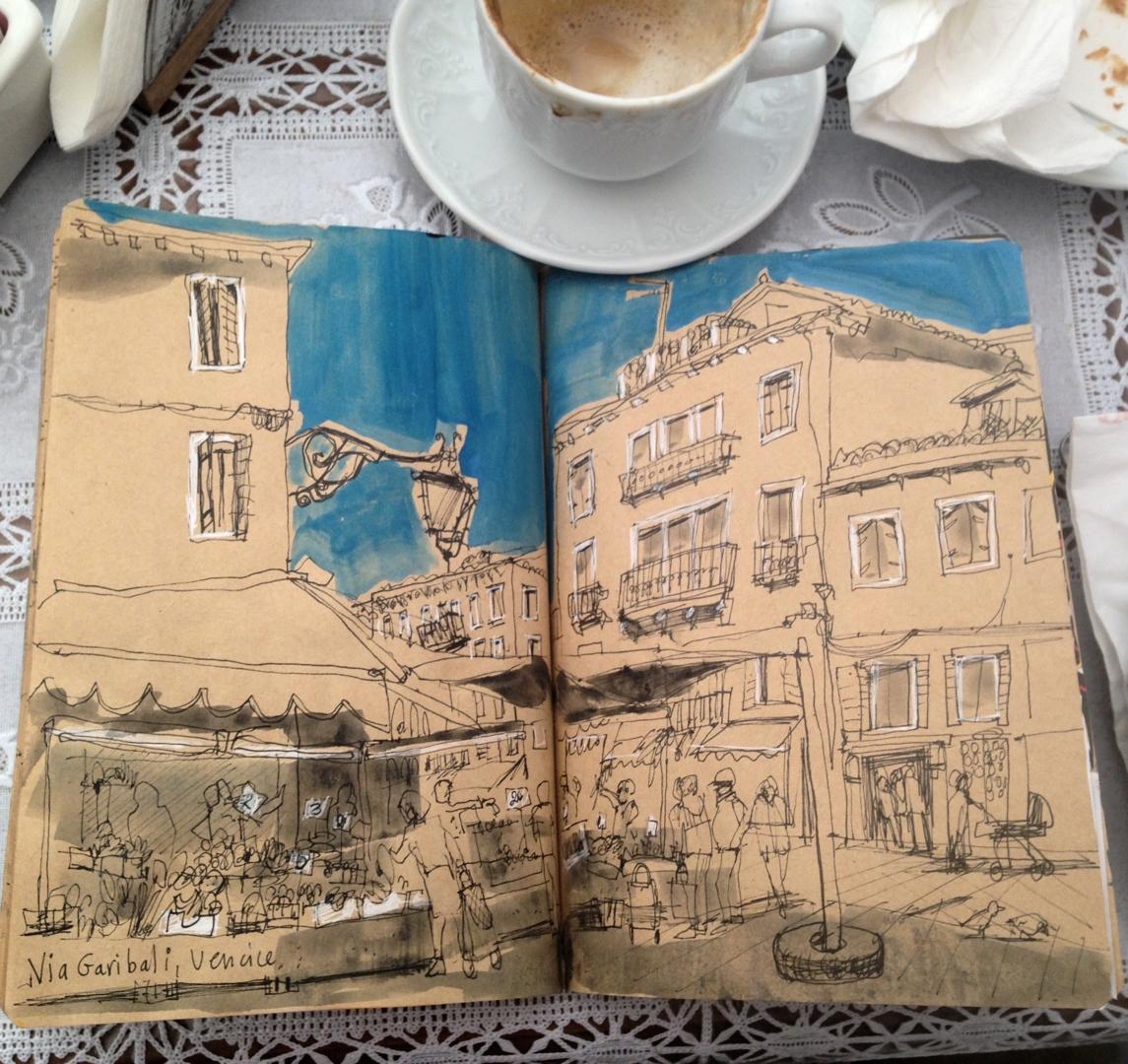Sketchbook Workshop with Artist, Debbie Mackinnon image