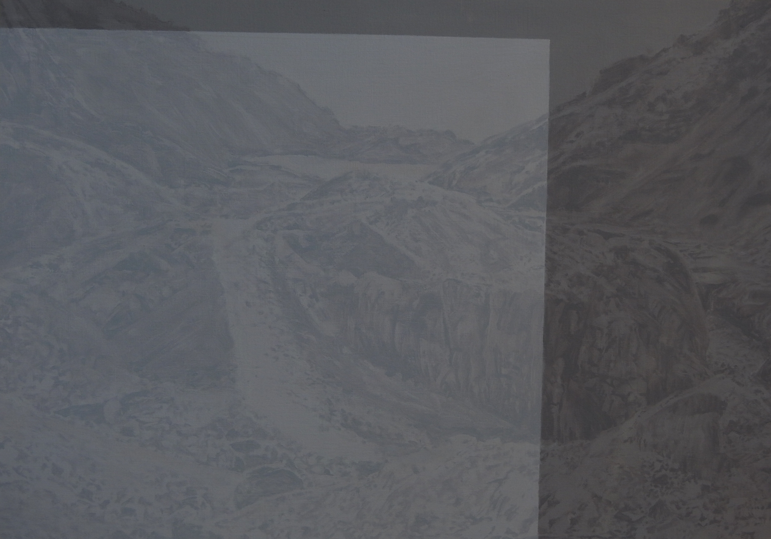 Thalia Robertson, Landscape Study 2, oil on paper image
