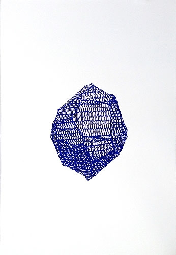 Al Munro, 'Small Blue Mineral Crystal' 2010 image