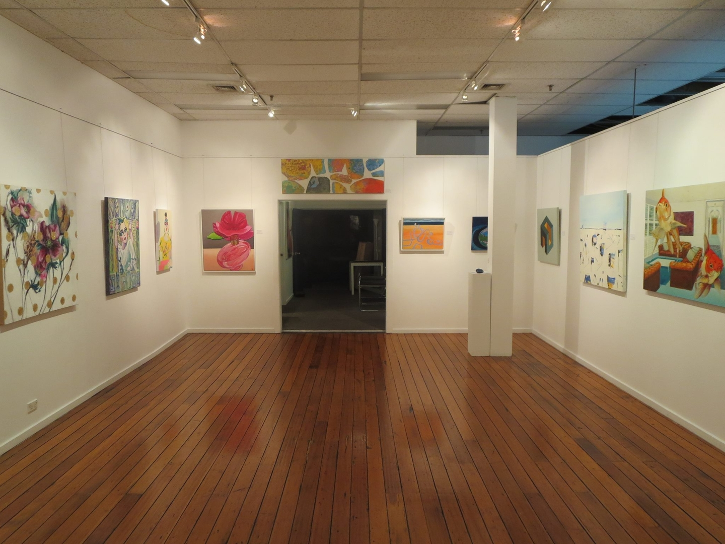 Swan Street Artists Group exhibition image