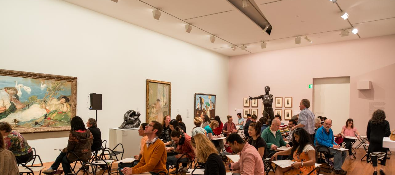 Members Exclusive: Sketching in the Gallery image