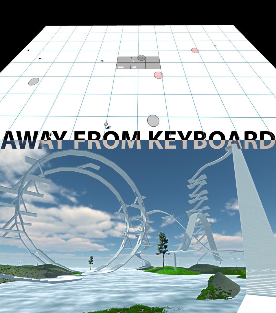 KRISTIN LUCAS & JOE MCKAY Away From Keyboard  image