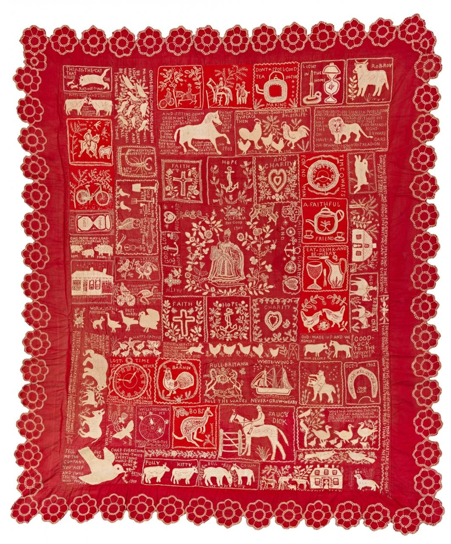 Making the Australian Quilt: 1800–1950 image