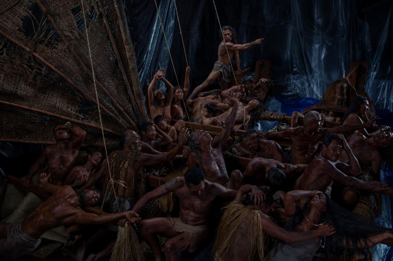 Greg SemuThe Raft of the Tagata Pasifika (People of the Pacific) image