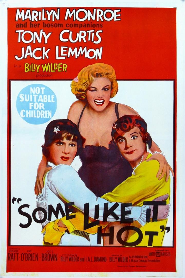 Some Like It Hot (1959, 120 mins, M) image