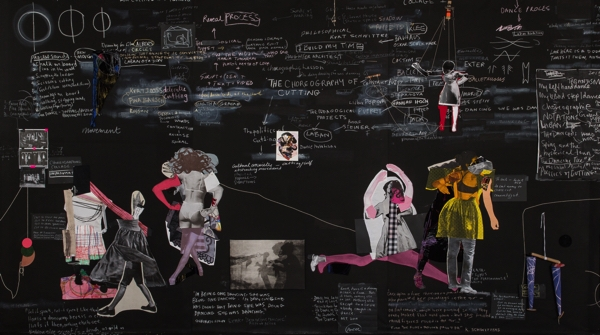 SALLY SMART  The Choreography of Cutting (The Pedagogical Puppet Projects)  image