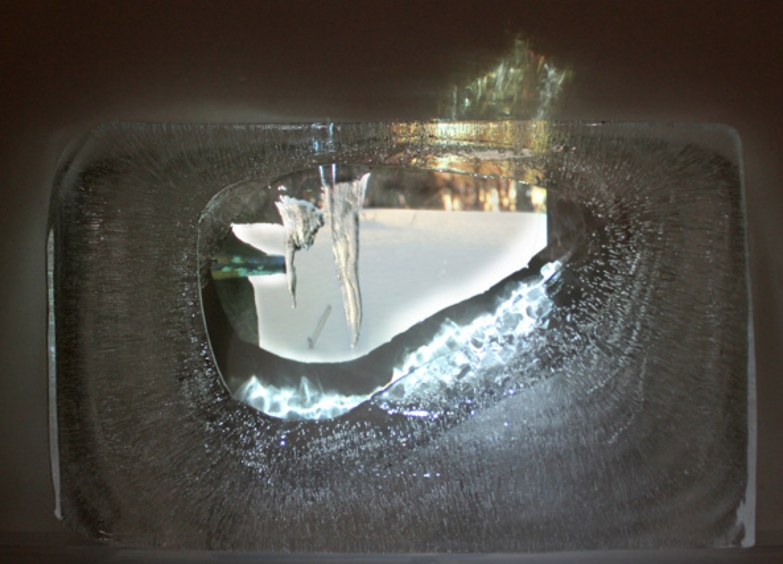 Handheld - melting image