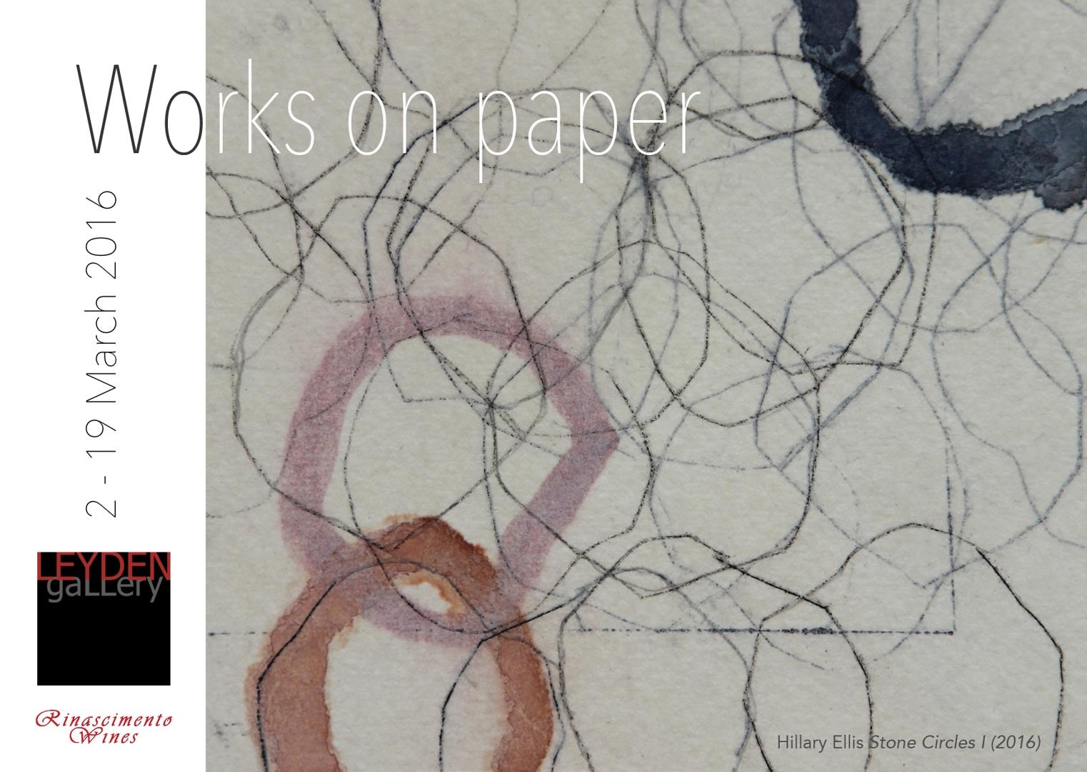Works on paper, Leyden Gallery. image