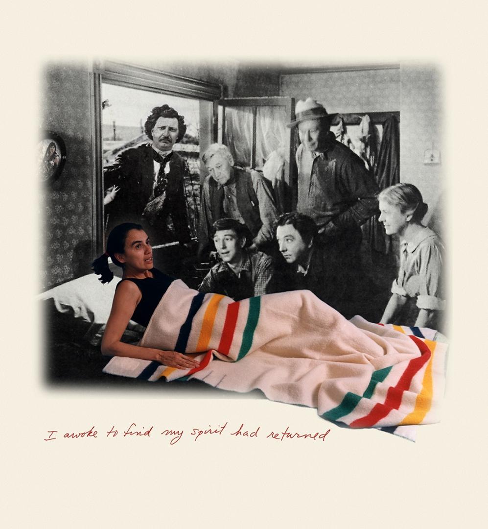 Rosalie Favell, I awoke to find my spirit had returned, 1999, Digital print image