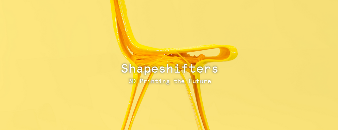 Shapeshifters 3D Printing the Future image