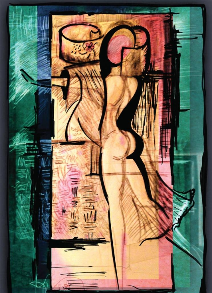 Joan Shimabukuro, Trasgeneric, Giclee Print on Paper, 10''x 8'' image