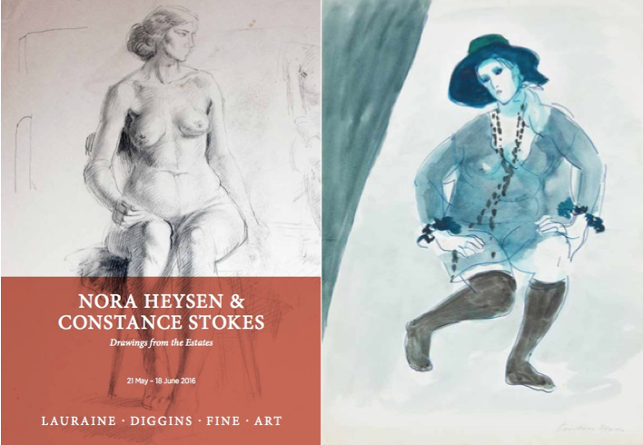 Nora Heysen and Constance Stokes image