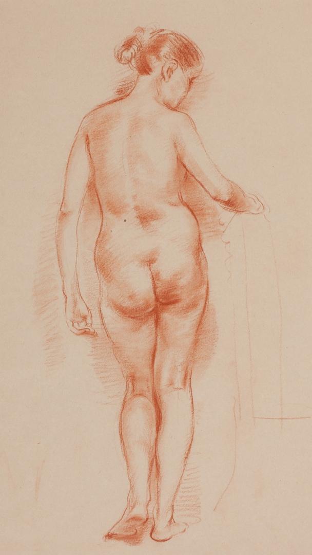 Female Nude - Back Study image