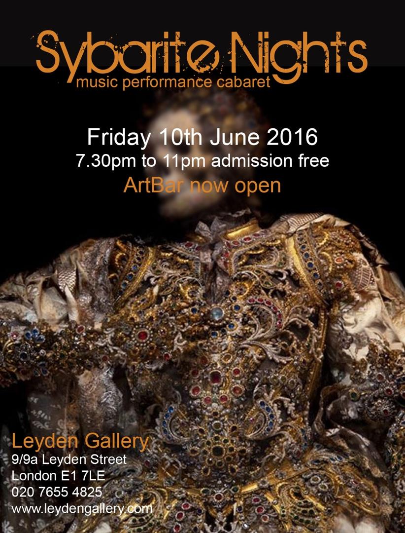 Sybarite Nights   music performance cabaret image
