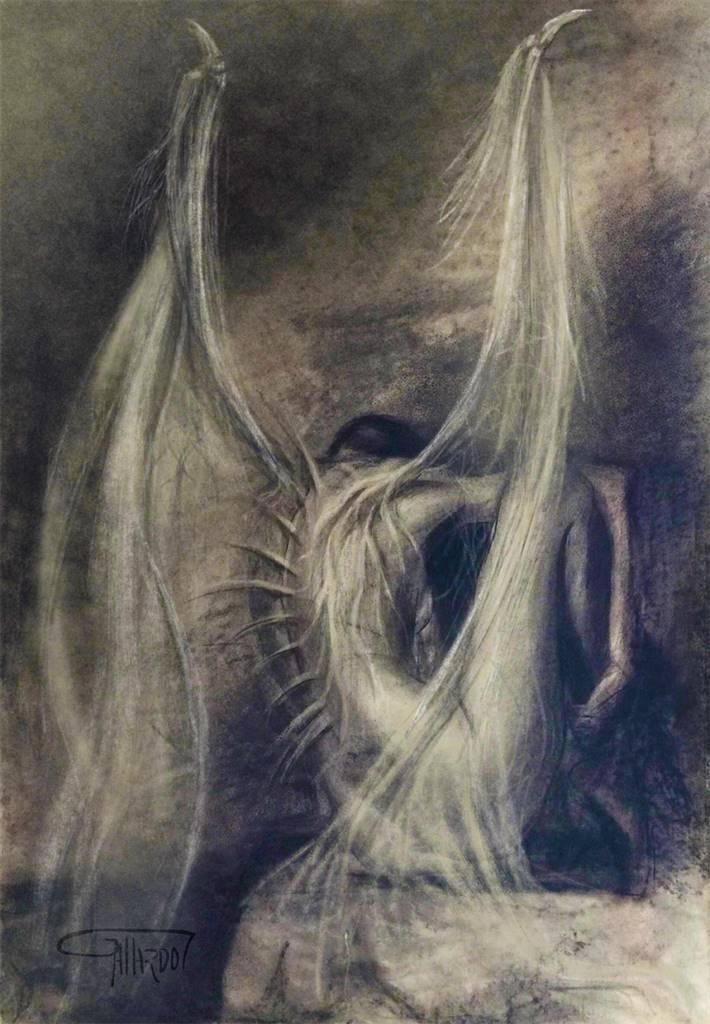 Gustavo Gallardo, En Silencio, Digital Artwork on Canvas, 34''x 24'' image
