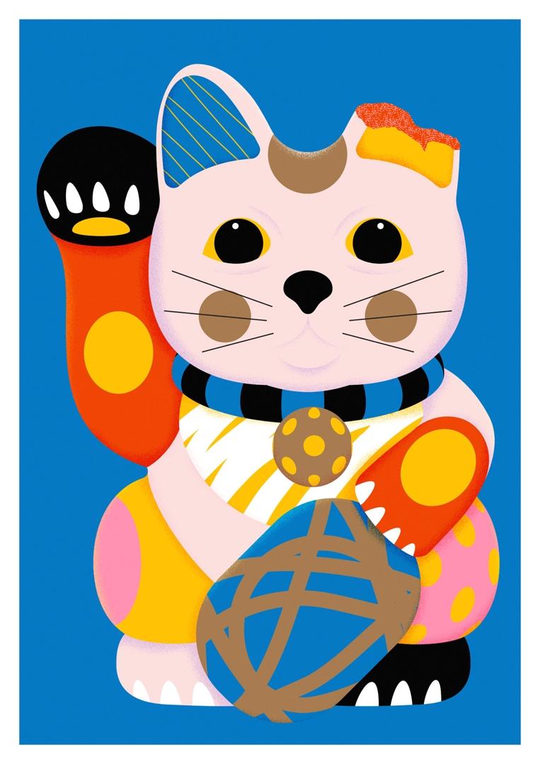 'Maneki-neko' image