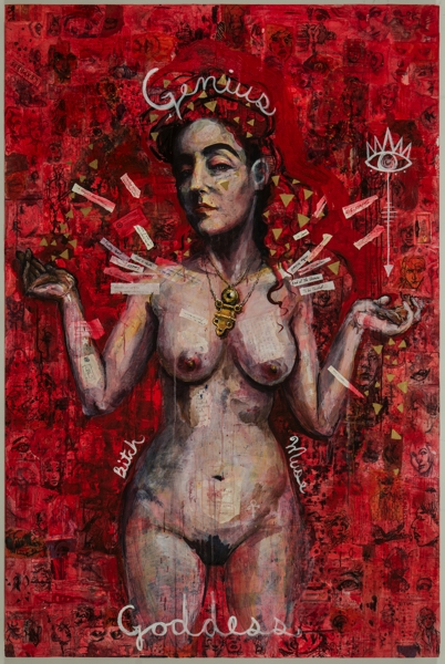 Molly Crabapple Annotated Muses image