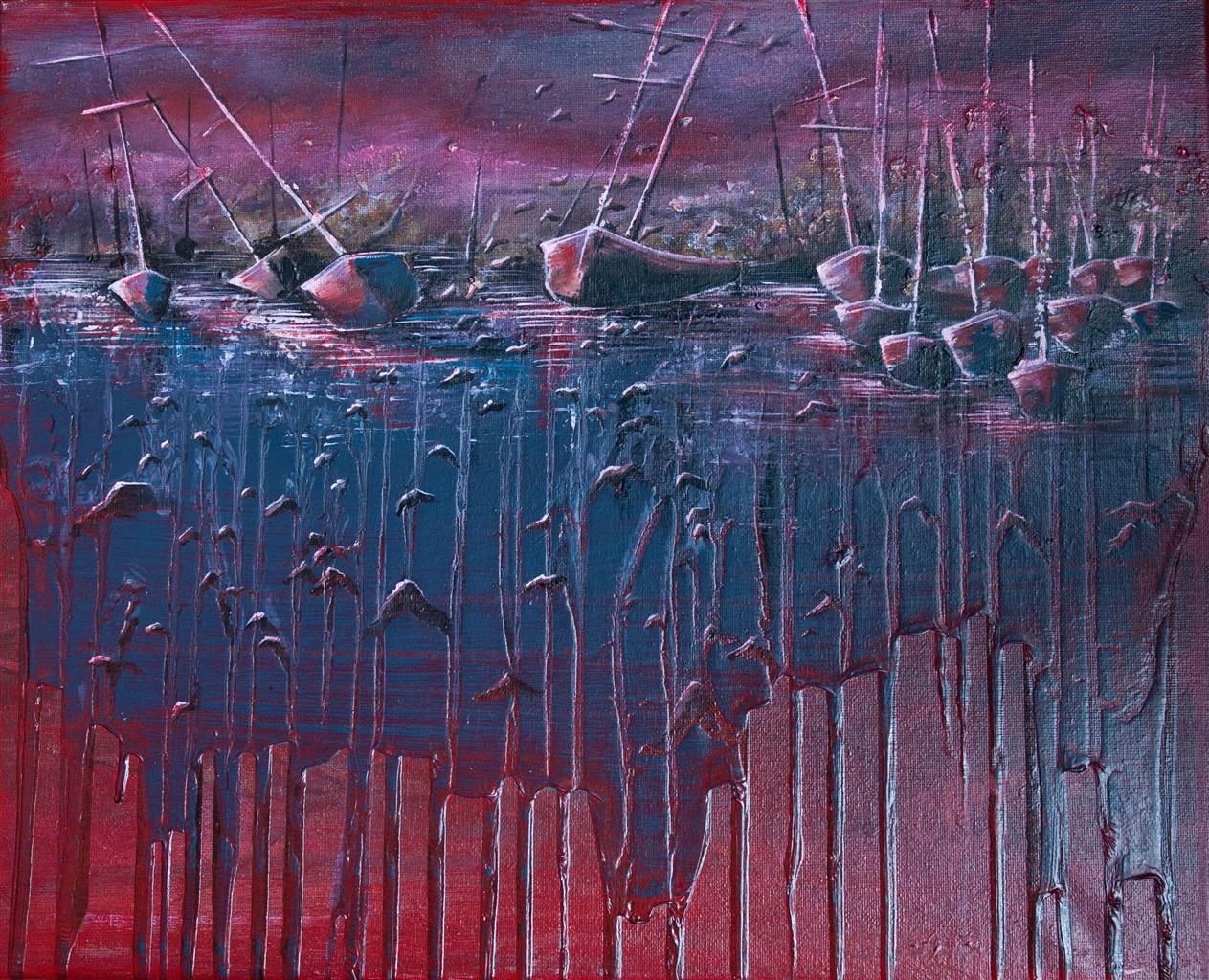 Chantal Roy,Interruption,Acrylic on Canvas,16''x20'' image