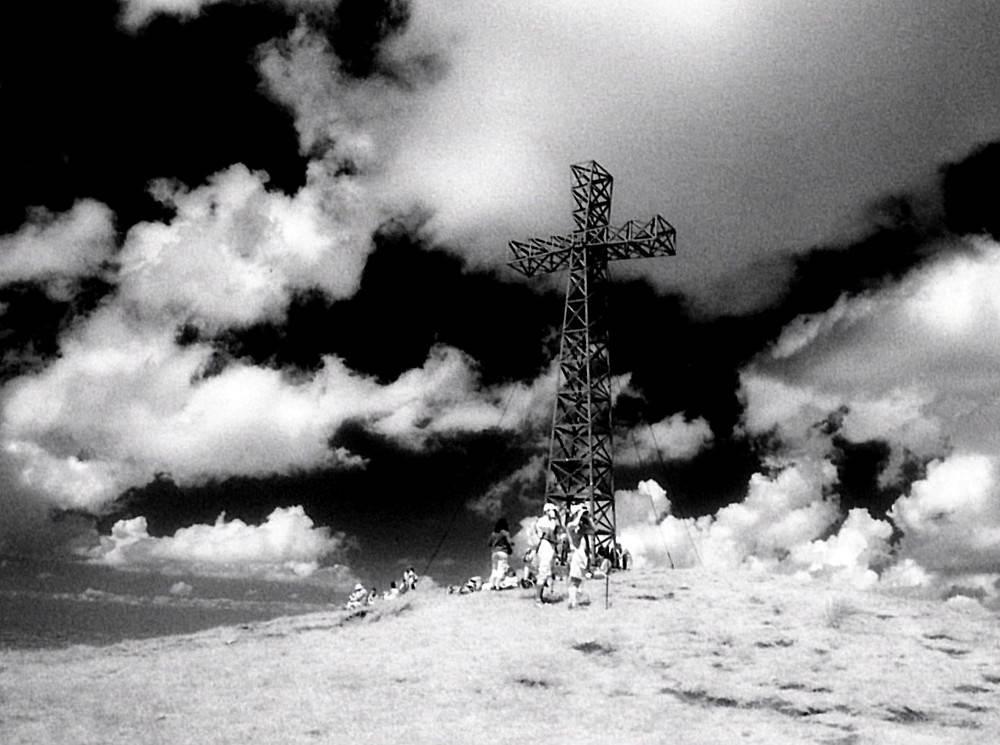 Antonio Biagiotti,Corno's Cross and Sky,Gelatin Silver Print,12''x15.5'' image