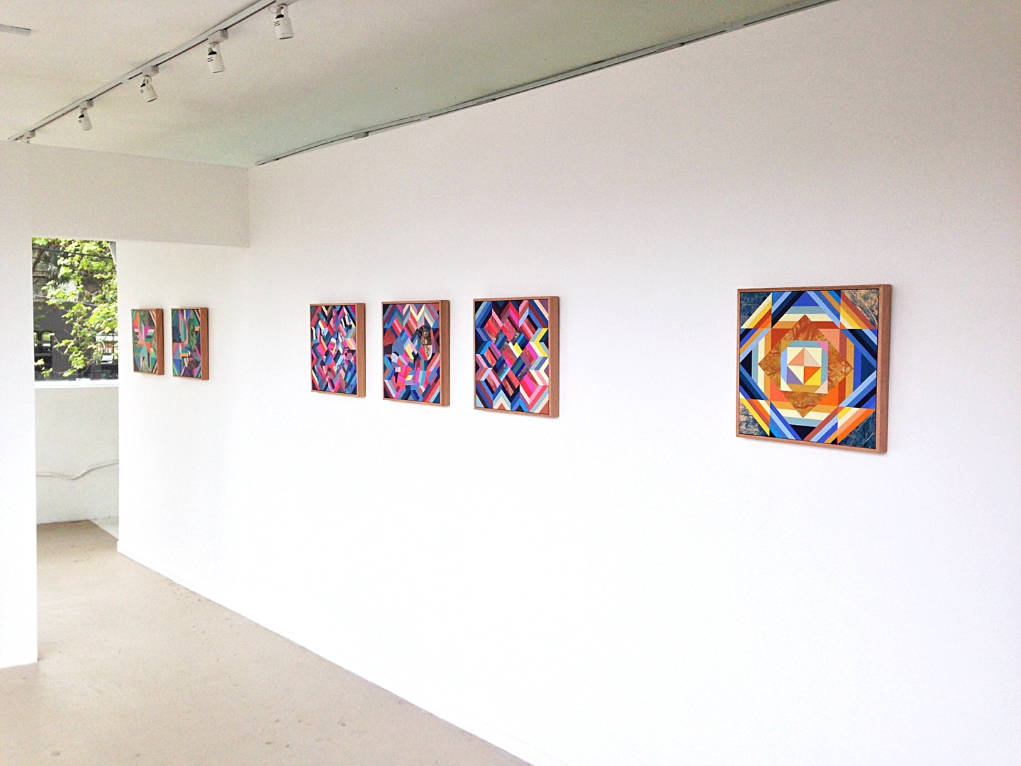 Pattern Remains - installation image