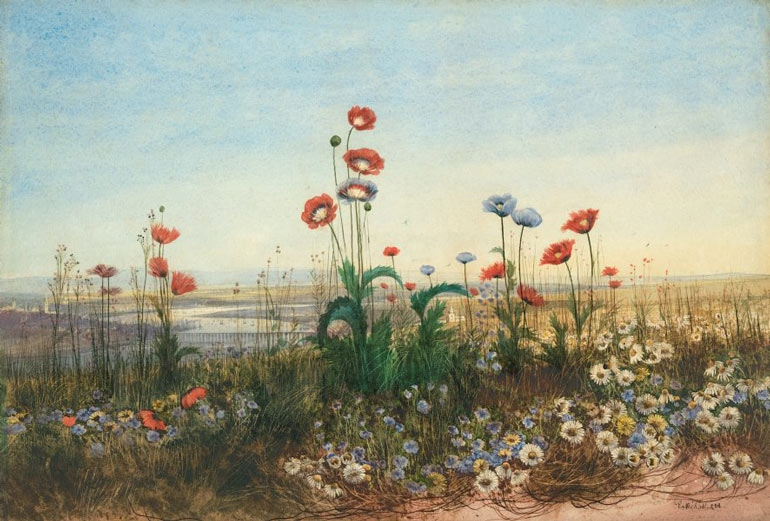 Victorian watercolours image