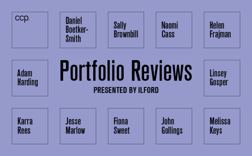 CCP Portfolio Reviews Book your place now! image