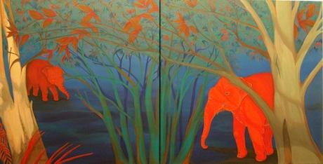 Elephant and the Bush image
