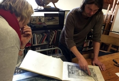 Drawing and Drypoint Course – Joel Wolter image