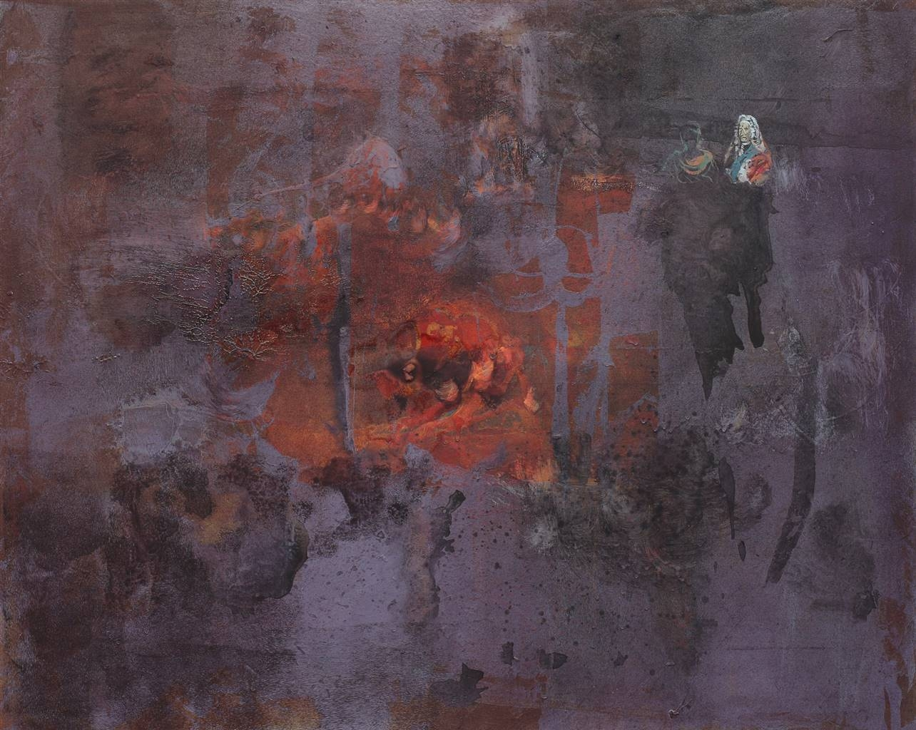 Irma Lescinskaite,Metalic Gloss III,Oil on Canvas,32''x41'' image