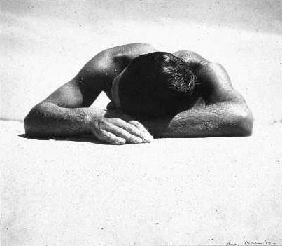Under the sun: reimagining Max Dupain's 'Sunbaker' image