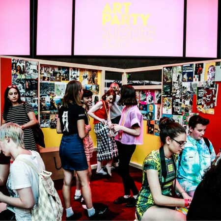 Ngv Teens: Art Party image