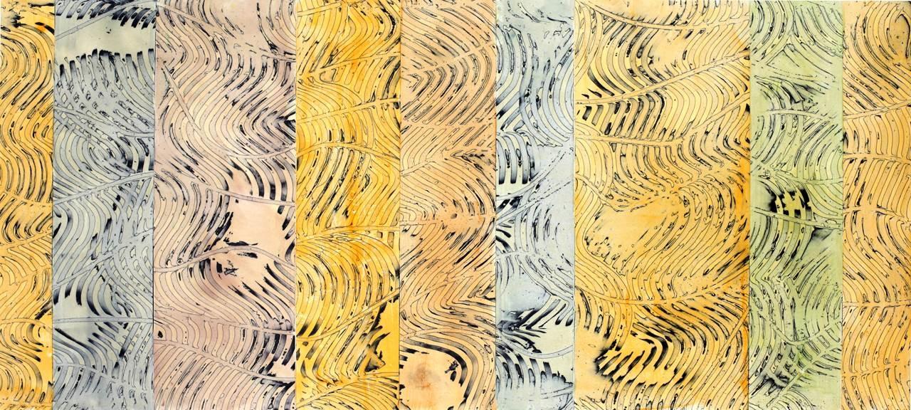 Andrew Glass,Ocean Mystique,Oil on Birch Panel,20''x 40'' image