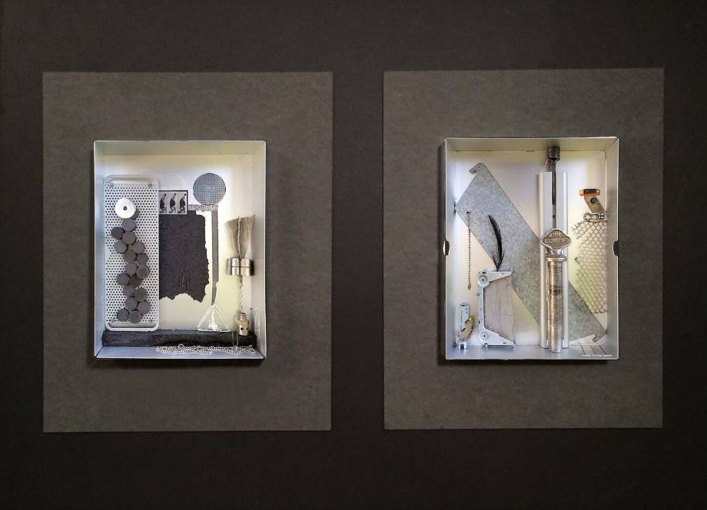 Ellen Burnett,Faith in the Future,Metal,32''x43''x 2'' image