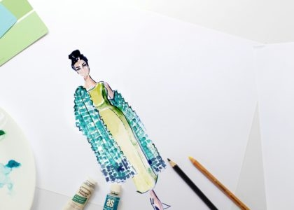 Fashion Illustration with Wolfgang and Rose image