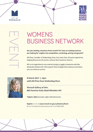 City of Monash Womens Business Network Event image