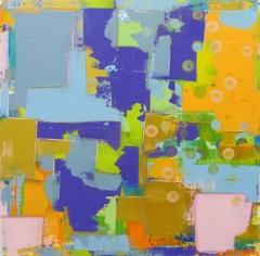 Annika Carlsson,Seascapes,Acrylic on Canvas,39.5''x 39.5'' image