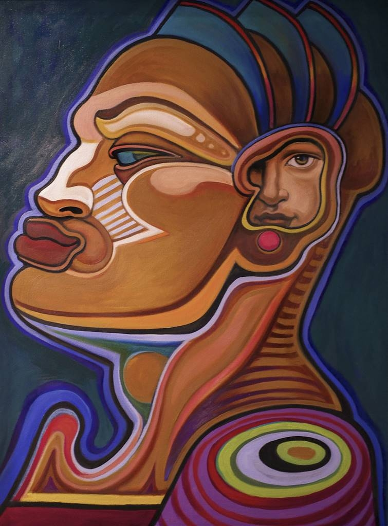 Gail Comes,Dido's Lament,Oil on Canvas,43''x33'' image