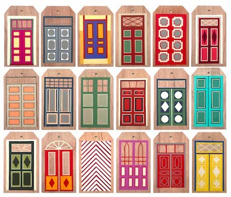 Geometry and Colour System in the Doors of Tallinn,  image