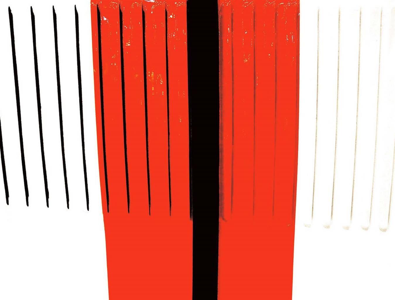 Marco Carnaroli, #001 Morgan White & Red - Air Series,Inkjet Print on Hahnemühle Paper, 45''x59'' image