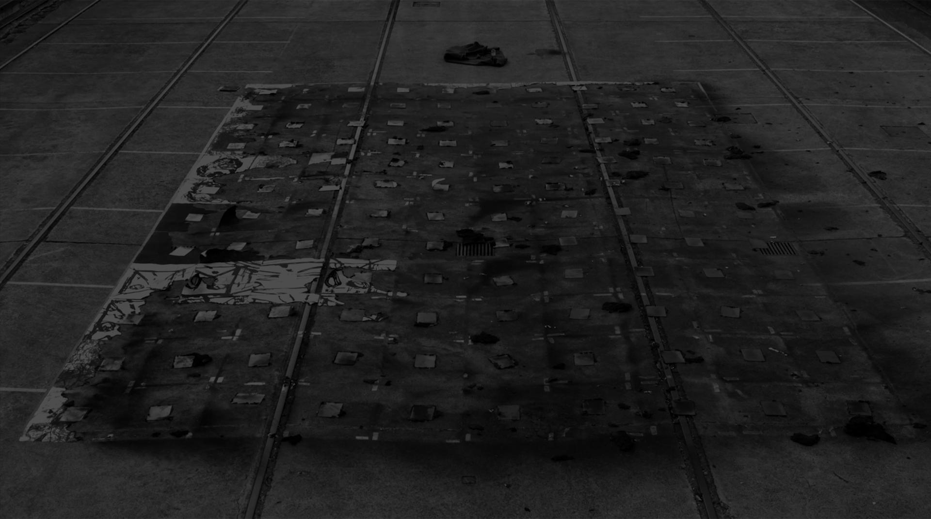 Mike Parr: Empty Ocean image