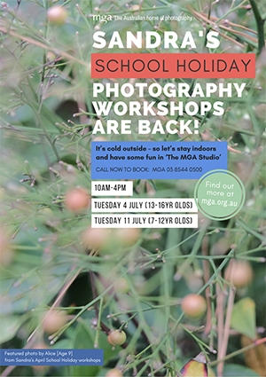 Sandra's School Holiday Photography Workshop (7-12 yr olds) image