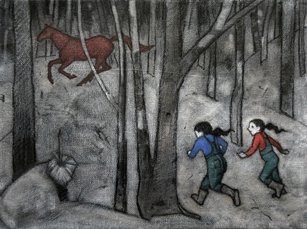 'Horsechase - a True Story' by Madeleine Clear image