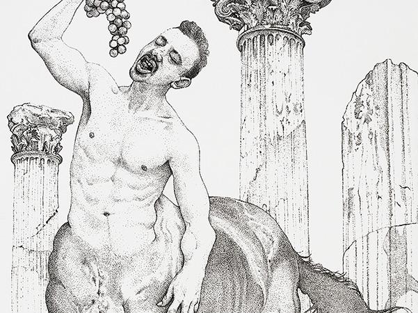 'Centaur' (detail) by Andrrew Nicholls image