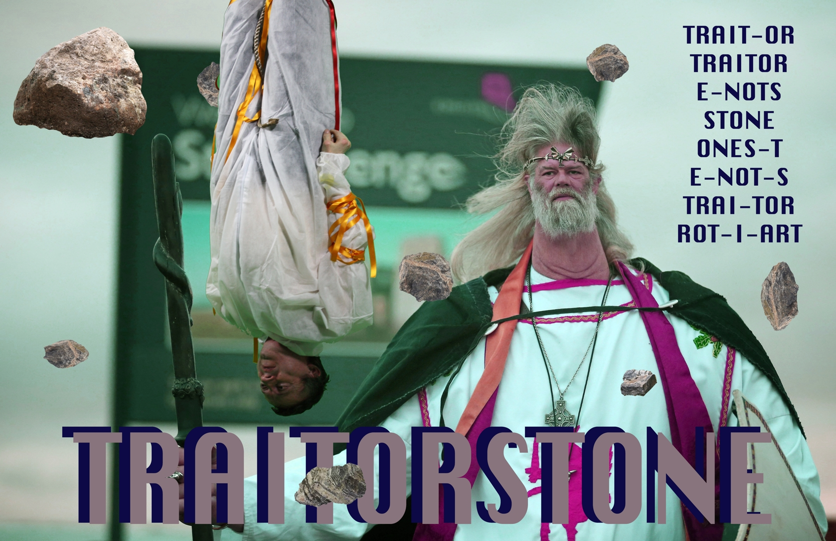 Plastique Fantastique Meme: Traitor Stone | 2017 | digital image. Courtesy of IMT Gallery, London. image