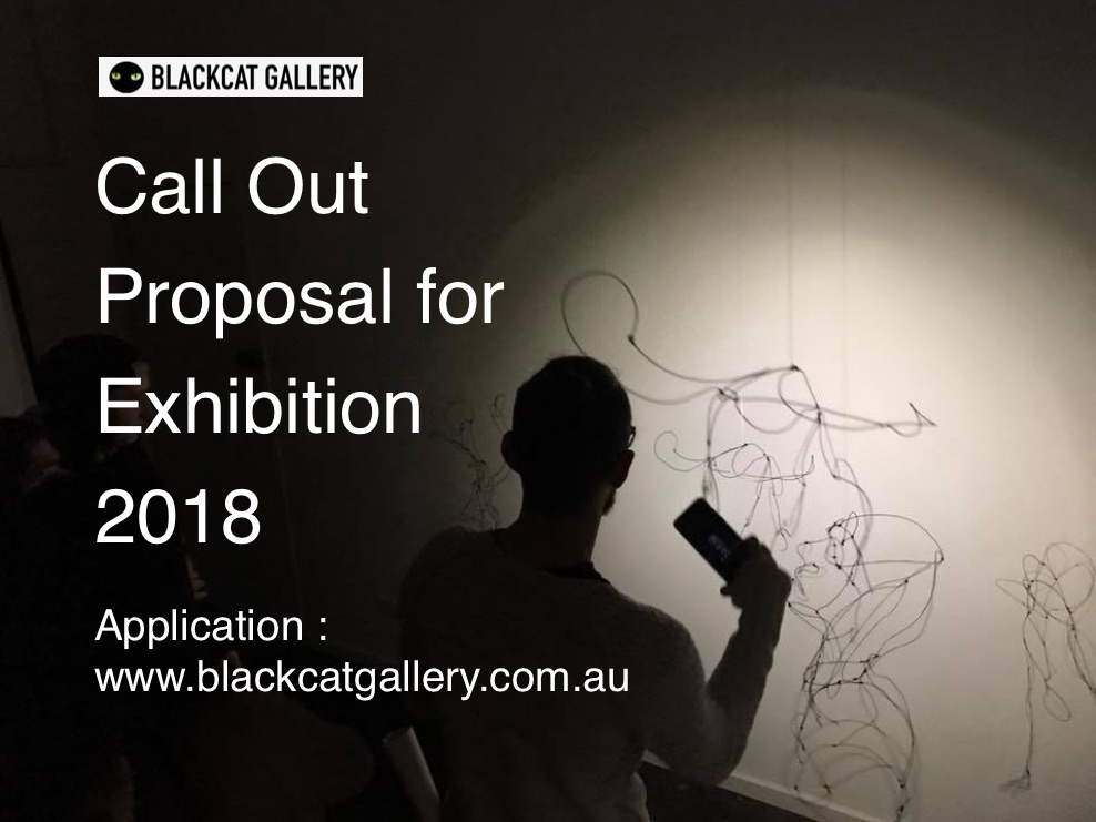 Proposal call out to exhibit 2018 image