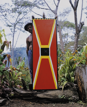 Australians in PNG   Eric Bridgeman: The fight image
