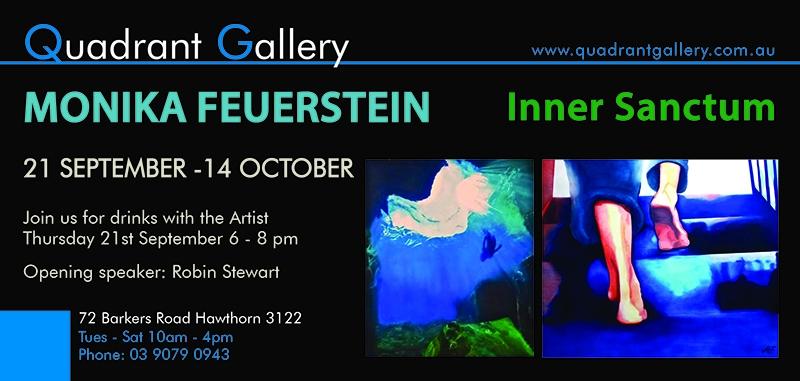 Monika Feuerstein  solo Exhibition image