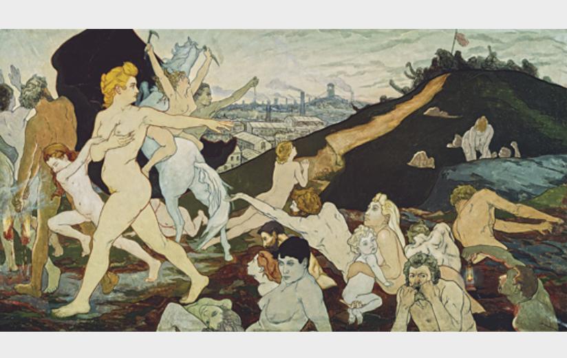 Mystical symbolism. The Salon de la Rose + Croix in Paris 1892-1897 image