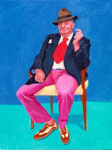David Hockney. 82 Portraits And 1 Still-life image