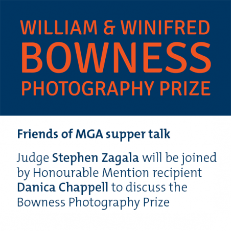 Bowness Photography Prize | Friends of MGA supper talk image